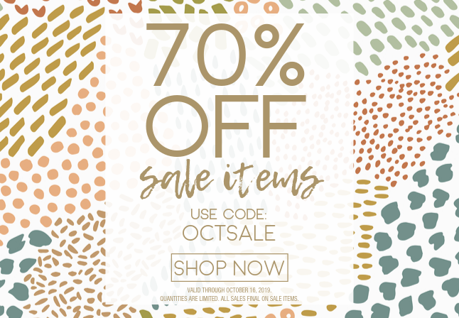 2019_OCT 11-16_70% OFF SALE ITEMS