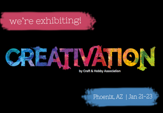 Creativation 2017 Exhibiting Banner