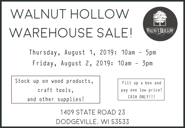 2019_JULY_WAREHOUSE SALE