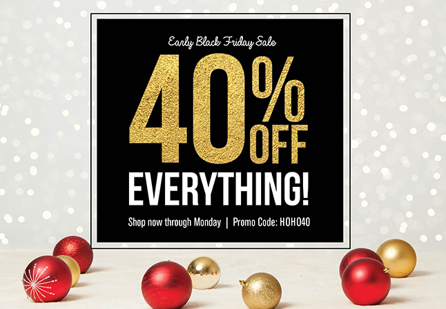 40 Percent Off Black Friday