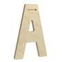 Decorative Wood Letters with Patterns monogram