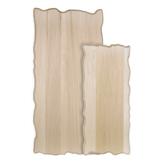 Basswood Rustic Rectangle