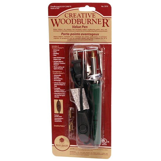 Contents of the creative woodburner wood burning tool for for Wood burning craft tools