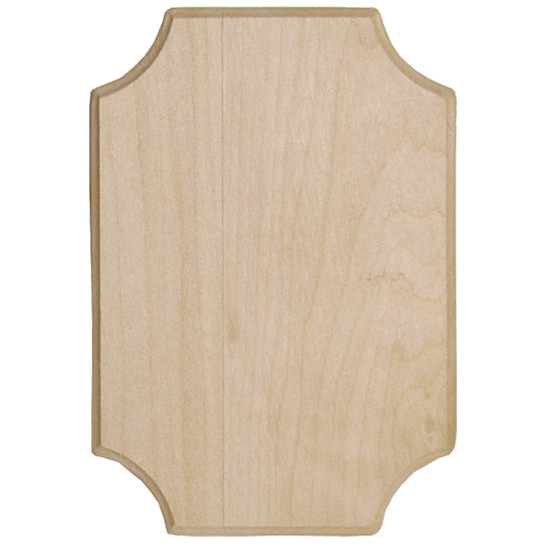 French Corner Value Plaque