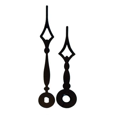 Black clock hands 2 69 quot walnut hollow craft