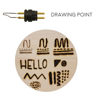 Drawing Point Walnut Hollow Craft