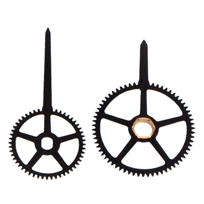 clock hands png. clock hands gears enlarge view png