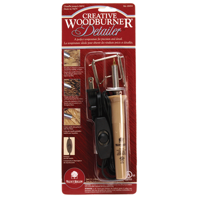 Creative woodburner detailer walnut hollow craft for Wood burning craft tools