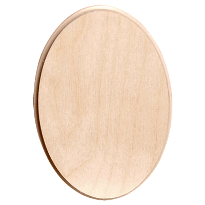 Oval Mini Thin Plaque