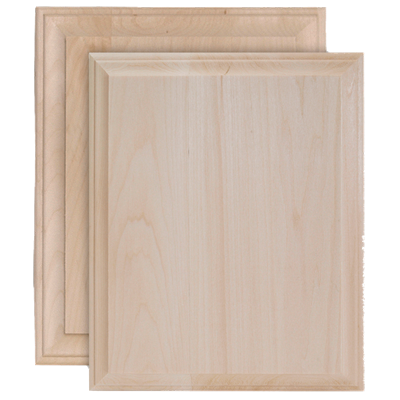 Rectangle Wide Edge Plaques
