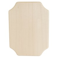 French Corner Plaque - Thin
