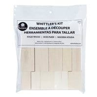 Basswood Whittler's Kit - 10 pieces