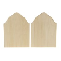 Decorator Thin Plaque, 2 Pack