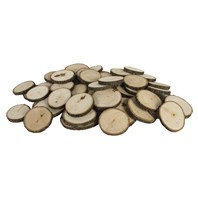 Basswood Country Round® --Ornament/Coaster Assortment, 50 pcs