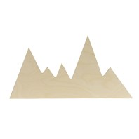 Mountain Range Shape