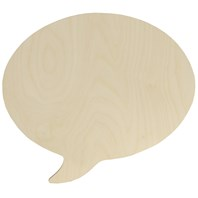 Speech Bubble, Oval