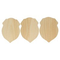 Miniature Shield, 3 Pack