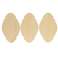 Miniature French Provincial, 3 Pack