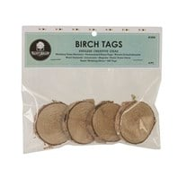 Birch Tag, 4 pack