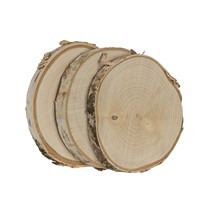Birch Coaster, 3 pack