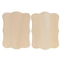 Cottage Thin Plaque, 2 Pack