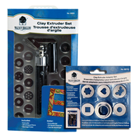 Clay Extruder & Adapter Set Value Pack