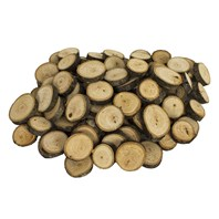 Basswood Country Round®, Ornament/Tag Assortment, 100 pcs