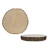 "Basswood Country Round® - Thick 13.75""-16.5"""