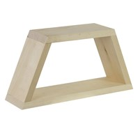 Trapezoid Shelf