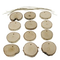 DIY Birch Ornament Kit