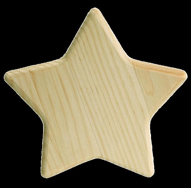 Wood Star Clock Walnut Hollow Craft