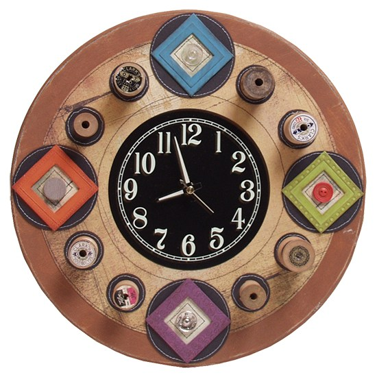 3 piece clock kit 3 8 walnut hollow craft for Clock mechanisms for craft projects