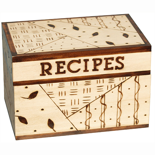 Creative-Versa-Tool-Project-Recipe-Box