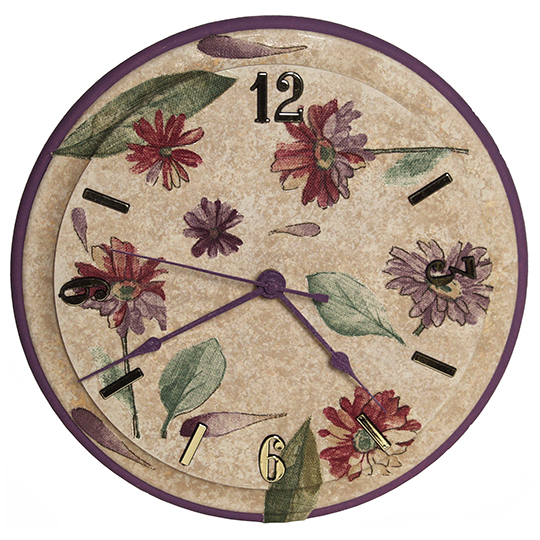 Decoupaged-Clock-Clockmaking-Project