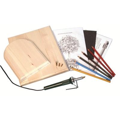 Deluxe Woodburning Kit Walnut Hollow Craft