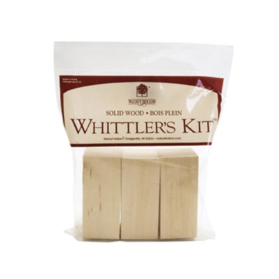 Whittlers Kit 3 Piece Basswood