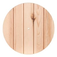Paneled Wood Clock