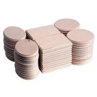 72 PC Mini Thin Plaque Assortment