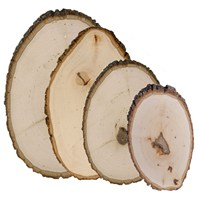 Rustic Basswood Country Rounds®
