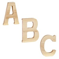 "5"" Wooden Letters"