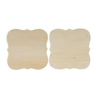 Dover Thin Plaque, 2 Pack