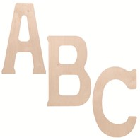 "18"" Wooden Letters"