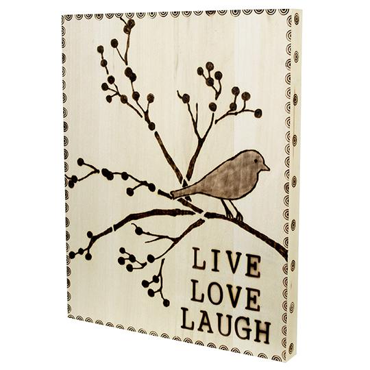 Live Love Laugh Walnut Hollow Craft