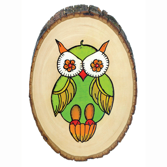 Owl-design-wood-burning-project