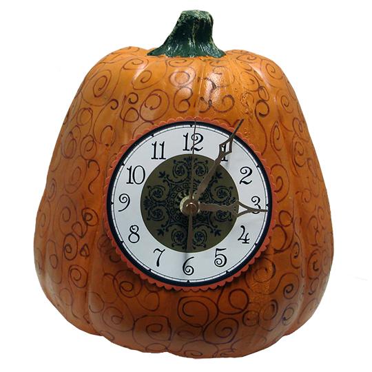 Pumpkin Clock Walnut Hollow Craft